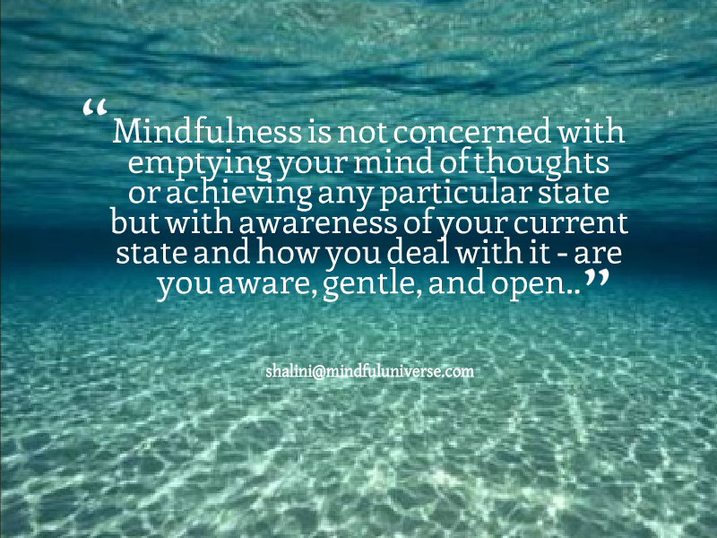 Mindfulness: What It Is and What It Is Not