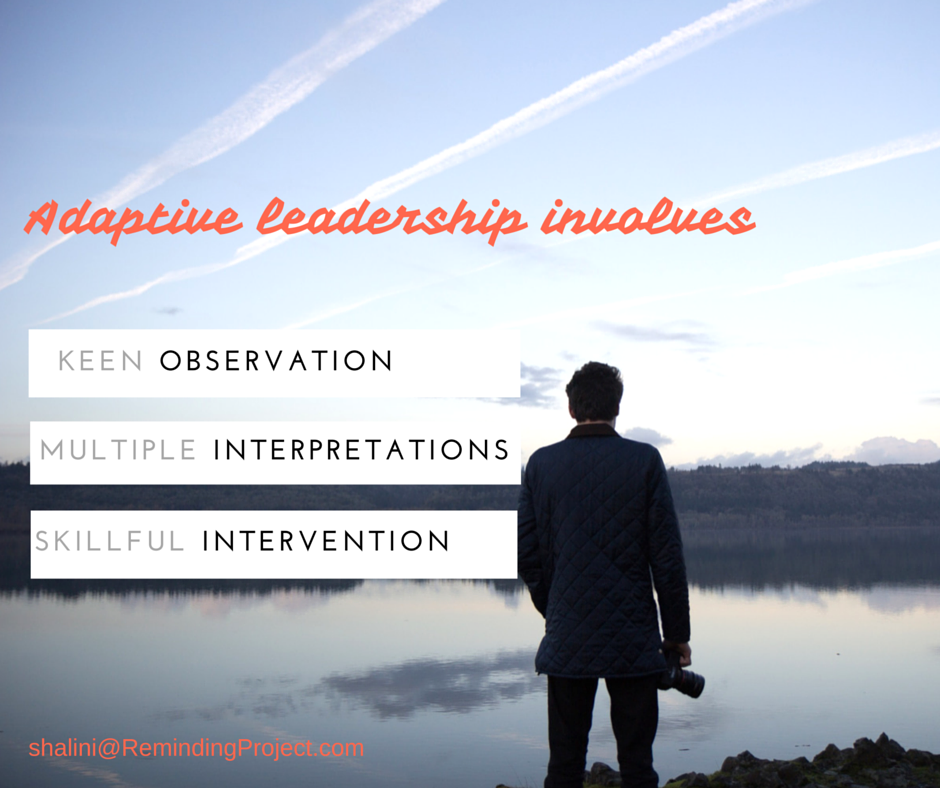 Search Inside Yourself for Adaptive Leadership