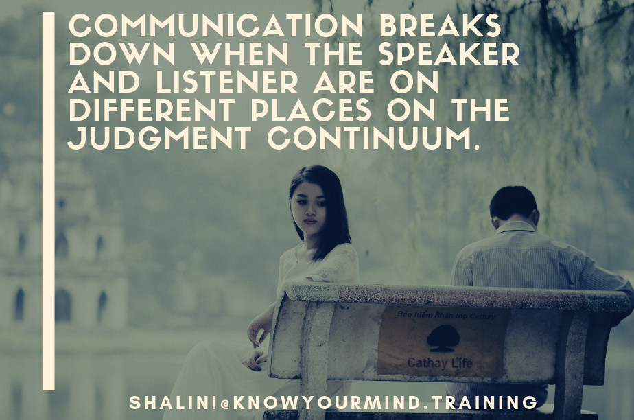 The Judgment Continuum: A Framework for Mindful Communication