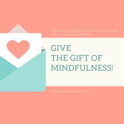 Gift Card - 8 Week Mindfulness Class