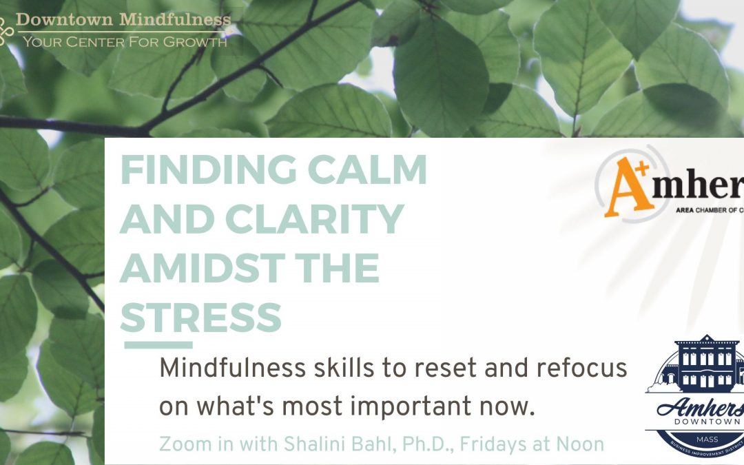 Need Calm Now? Try The Awareness Of Breath